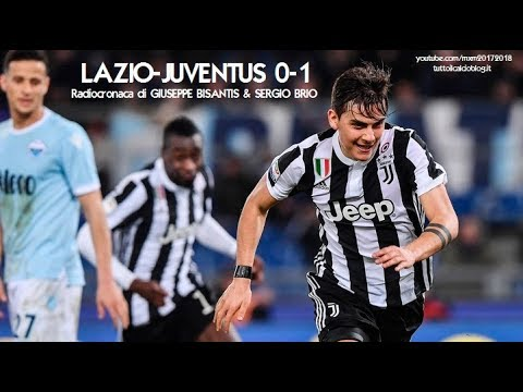 LAZIO-JUVENTUS 0-1 – Radiocronaca di Giuseppe Bisantis & Sergio Brio (3/3/2018) da Rai Radio 1