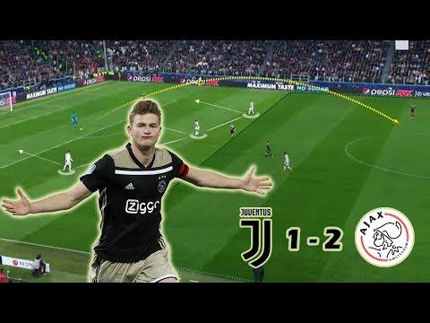 Young Ajax Boys Making History | Juventus vs Ajax 1-2 | Tactical Analysis