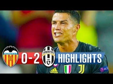 Valencia vs Juventus 0-2 Full Match Highlights 19-09-2018 HD
