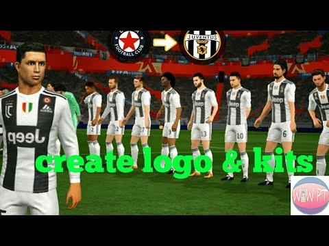 How to Create Juventus Team Kits & Logo – Dream League Soccer 2018