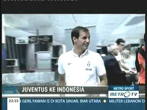 Juventus Tiba Di Indonesia