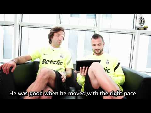 Andrea Pirlo and Simone Pepe recall Juve's goal against Lazio