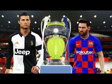 PES 2019 – Barcelona vs Juventus – Final UEFA Champions League 2019/2020 – Messi vs Ronaldo