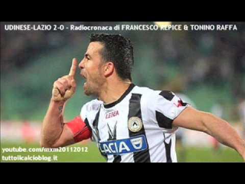UDINESE-LAZIO 2-0 – Radiocronaca di Francesco Repice & Tonino Raffa (29/4/2012) da Radiouno RAI