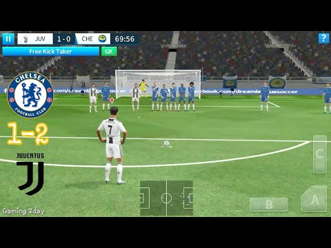 Juventus vs Chelsea – Dream league soccer 2018 – Android/IOS gameplay #72