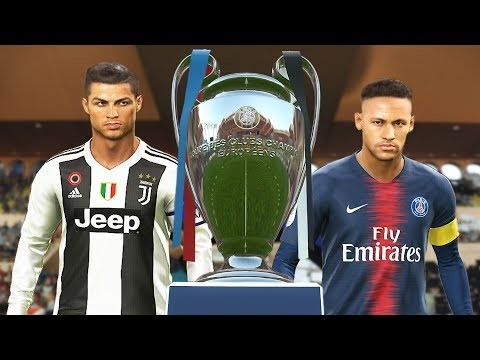 PES 2019 – Juventus vs PSG – Final UEFA Champions League [UCL] – Penalty Shootout – CR7 vs Neymar