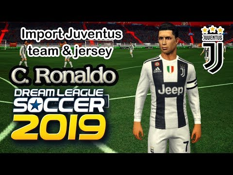 Import Juventus team kits, logo & players in Dream League Soccer 2019