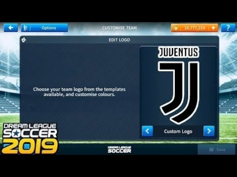 HOW To Import  #Juventus#Logo And Kits In #DreamLeagueSoccer2019