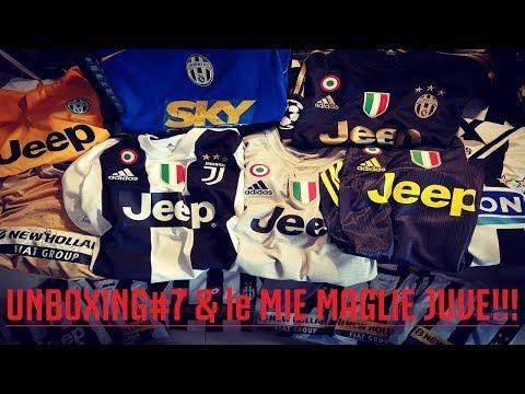 INCREDIBILE!!! VOGLIO BENE alla JUVENTUS!!!    UNBOXING#7 & le MIE MAGLIE della JUVE!!!