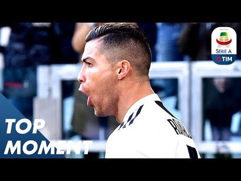 Ronaldo Scores 13th Serie A Goal! | Juventus 2-1 Sampdoria | Top Moment | Serie A