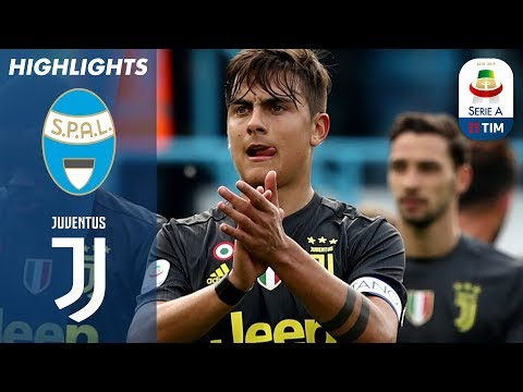 Spal 2-1 Juventus | Spal shock Juve to put eight successive Serie A title on hold | Serie A