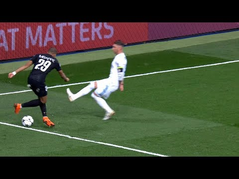 Kylian Mbappé vs Real Madrid (Away) HD 1080i (14/02/2018)