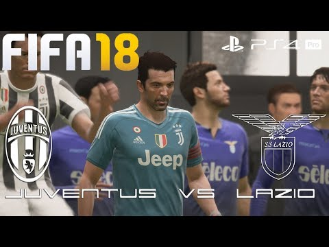 FIFA 18 (PS4 Pro) Juventus v Lazio SERIE A 14/10/2017 PREDICTION 1080P 60FPS