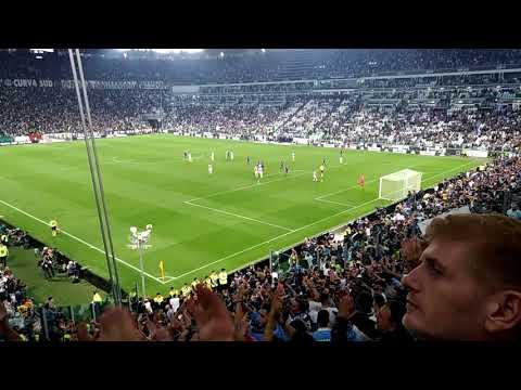 Juventus – Lazio 1- 2 Minuti finali – Settore ospiti 14/10/2017