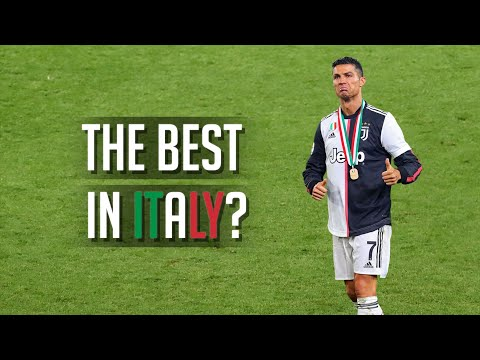 Cristiano Ronaldo is the BEST Player in Italy?! 🏆