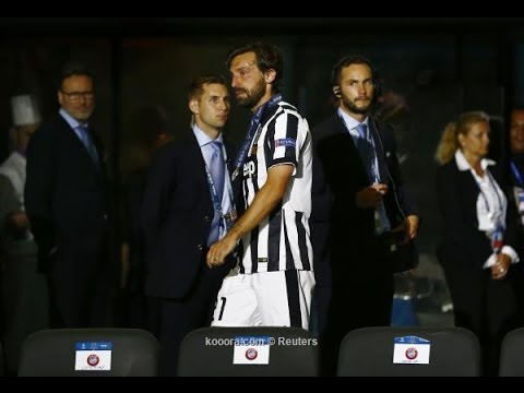 Andrea Pirlo Emotional Moment – Respect – Juventus 1-3 Barcelona 2015