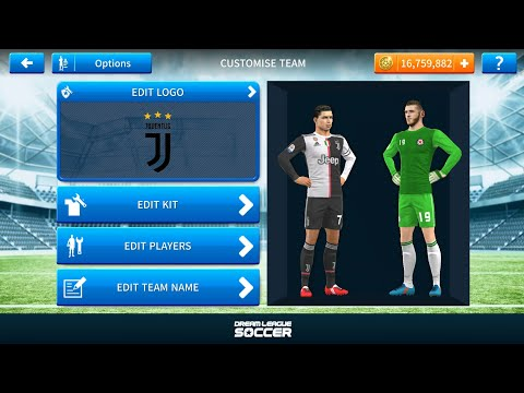 How to Get Brand New Juventus Kits in Dream League Soccer 2019 • HD°• Z7TV