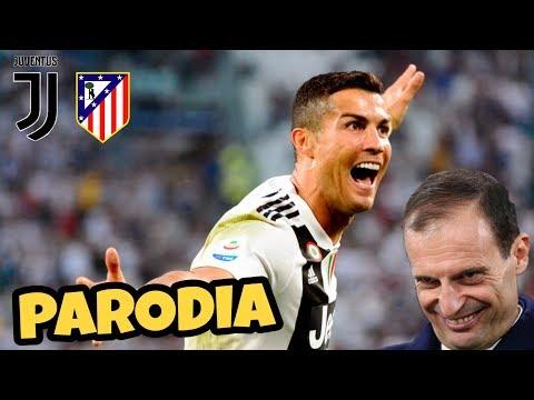 JUVE ATLETICO MADRID 3-0 – Parodia