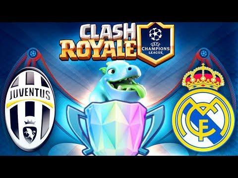 JUVENTUS vs REAL MADRID !! FINALE CHAMPIONS LEAGUE Clash Royale