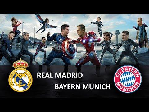 Real Madrid vs Bayern Munich – Parodia – Avengers – UEFA CHAMPIONS LEAGUE 2018 – memes – cargadas