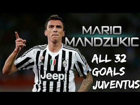 Mario Mandzukic All 32 Goals For Juventus 2015-2018