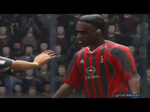 Fifa 2006 Juventus VS Milan(Gameplay PC)