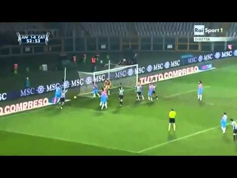 'Coppa Italia' Juventus Catania 2 0 130111 Highlights Rai.avi