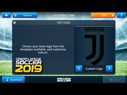 Import JUVENTUS Kits & Logo In Dream League Soccer 2019