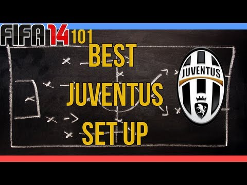 Fifa 14 – 101- Best Juventus Setup ( Squad and Formation)