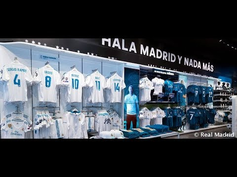 Real Madrid Official Store.    Madrid – 🇪🇸SPAIN🇪🇸