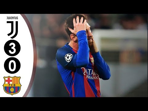 Juventus vs Barcelona UCL 3-0 2016/2017 Full Highlights HD