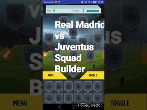 REAL MADRID VS JUVENTUS SQUAD BUILDER | UEFA CHAMPIONS LEAGUE FINAL 2017 |FUT 17