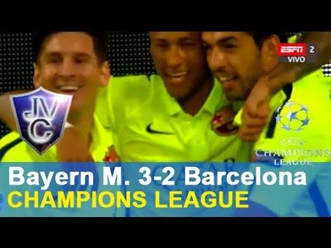 (Relato Miguel Simón) Bayern Munich 3-2 Barcelona 06/05/2015 Champions 2015