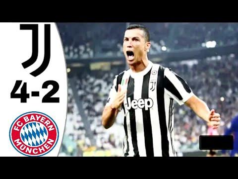 (4-2) Juventus Vs Bayern Munich full match highlights and all goals