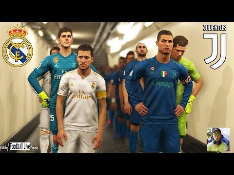 PES 2019 | Juventus vs Real Madrid | C.Ronaldo vs Hazard to Real Madrid | Gameplay PC