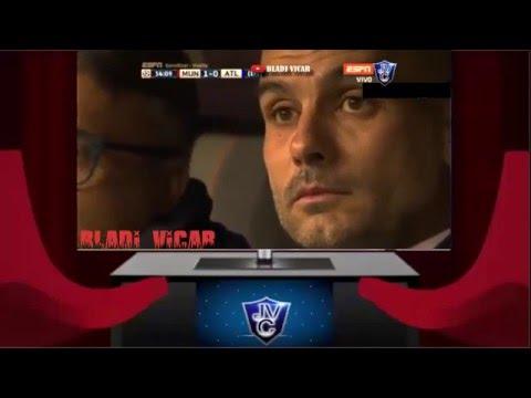Bayern Munich 2-1 Atlético Madrid 03/05/16 (Relato Miguel Simon) champions 2016