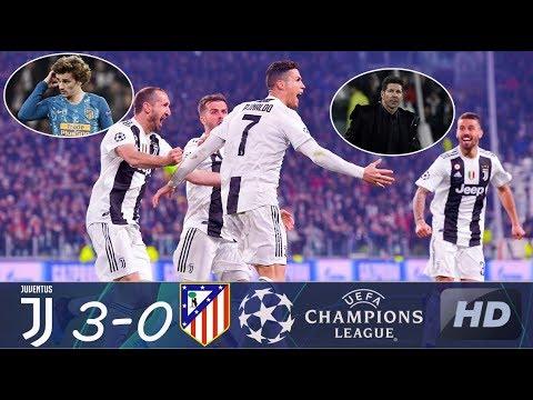 Juventus vs Atletico Madrid 3-0 Extended Highlights & full match (STAT.) 03/13/2019