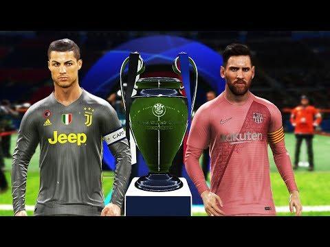 PES 2019 – Barcelona vs Juventus – Final UEFA Champions League [UCL] – Messi vs Ronaldo