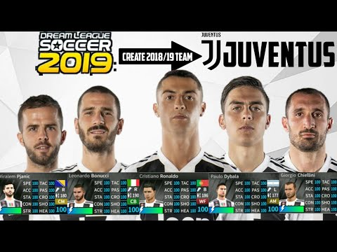 HOW TO GET JUVENTUS FULL TEAM IN DLS 19 ||ALL PLAYERS 100