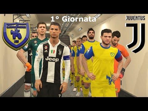 "Chievo Vs Juventus 1°Giornata ""Ronaldo-Dybala: la Coppia Spaventa Tutti"" | PES 2019/18 Patch [Giù]"