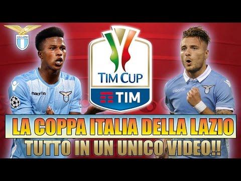 TUTTA LA COPPA ITALIA DELLA LAZIO IN UN UNICO VIDEO!! [By Giuse360]
