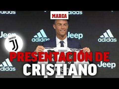 Presentación de Cristiano Ronaldo como jugador de la Juventus