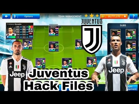 DLS-Juventus Hack Files-All player 100 Max | Download Now High Graphic Game