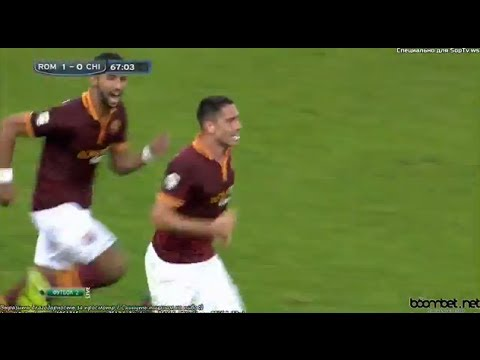 AS ROMA vs. Chievo (1-0) All Goals and Highlights (31/10/2013)