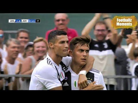 Cristiano first Goal  Juventus A vs Juventus B