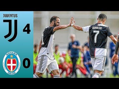 Highlight Juventus Vs Novara 4-0 | All Goals Juventus Vs Novara 2019