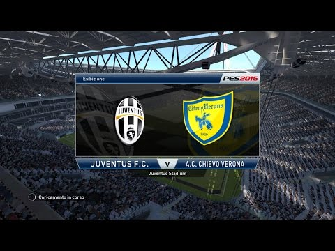 Pes 2015-Juventus Vs Chievo Verona  25/01/2015  Previsione Seria A TIM ITA HD 720p