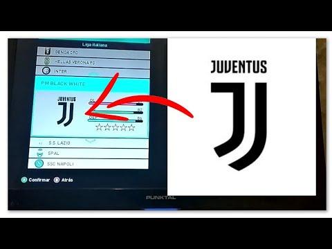 """Cómo hacer el escudo de Juventus en PES """"facil y rapido"""""""