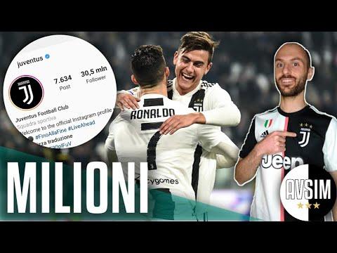 La Juventus vola su Instagram grazie a Ronaldo (e Dybala) ||| Speciale Avsim