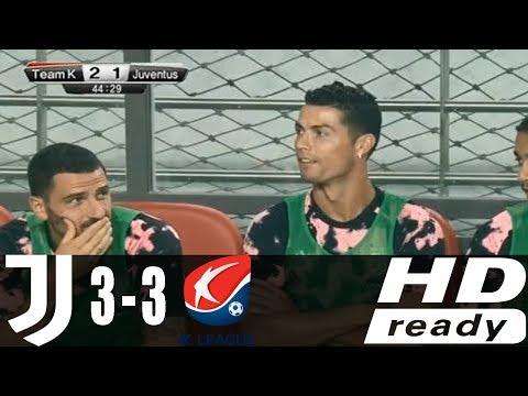 Juventus vs K League All Star 3-3 – All Goals & Extended Highlights – Friendly 26/07/2019 HD